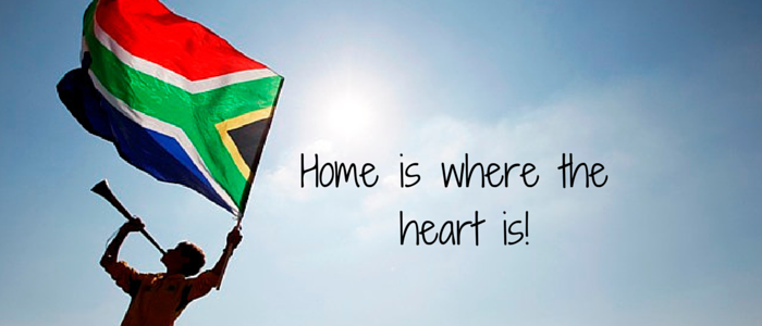 Why South Africa will always be home