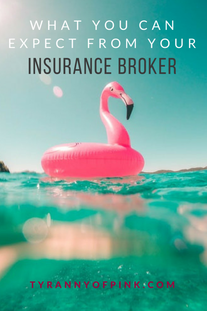 Insurance Broker | Tyranny of Pink